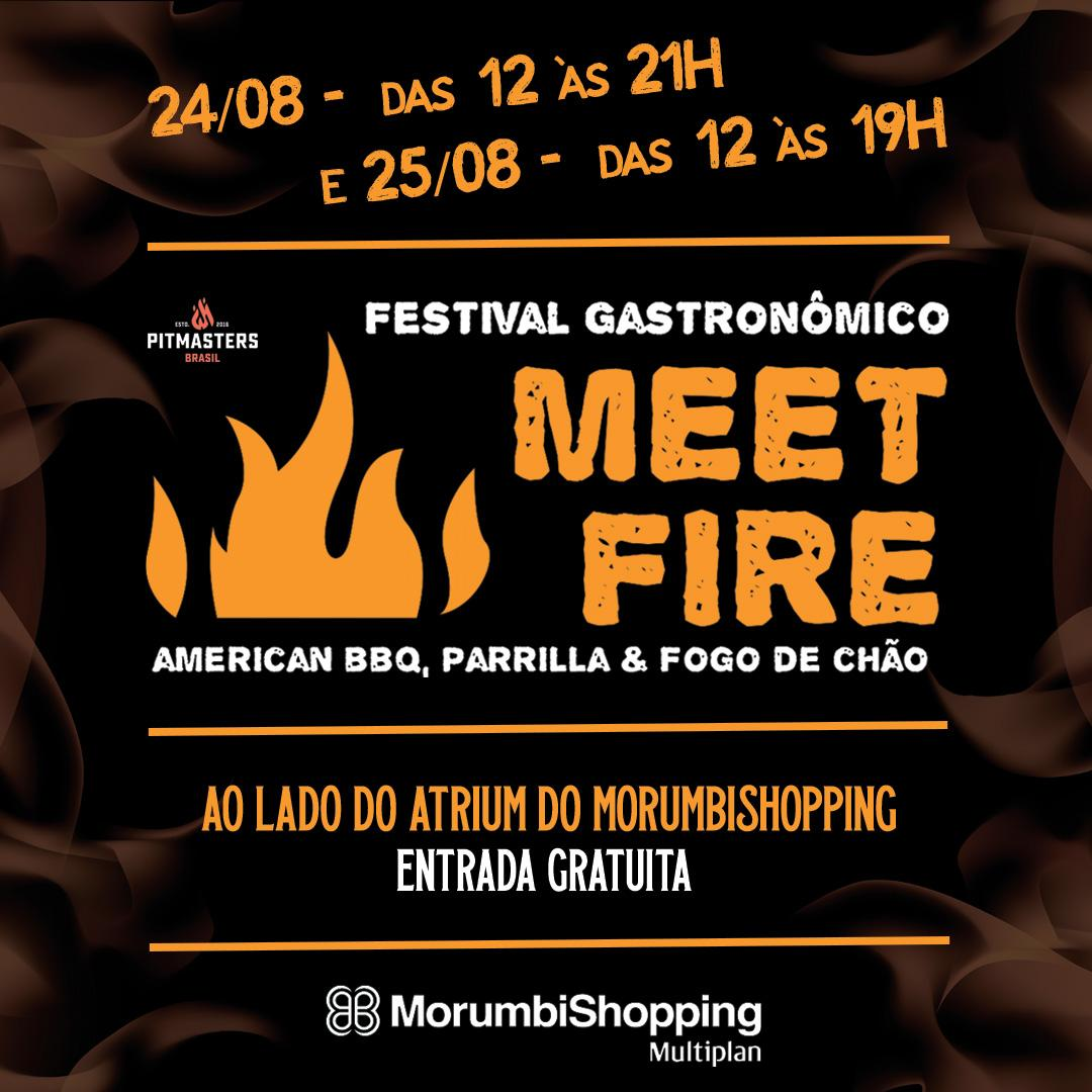 MorumbiShopping realiza festival de churrasco Meet Fire