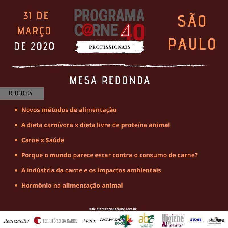 Curso voltado para profissionais da cadeia da carne acontece em São Paulo