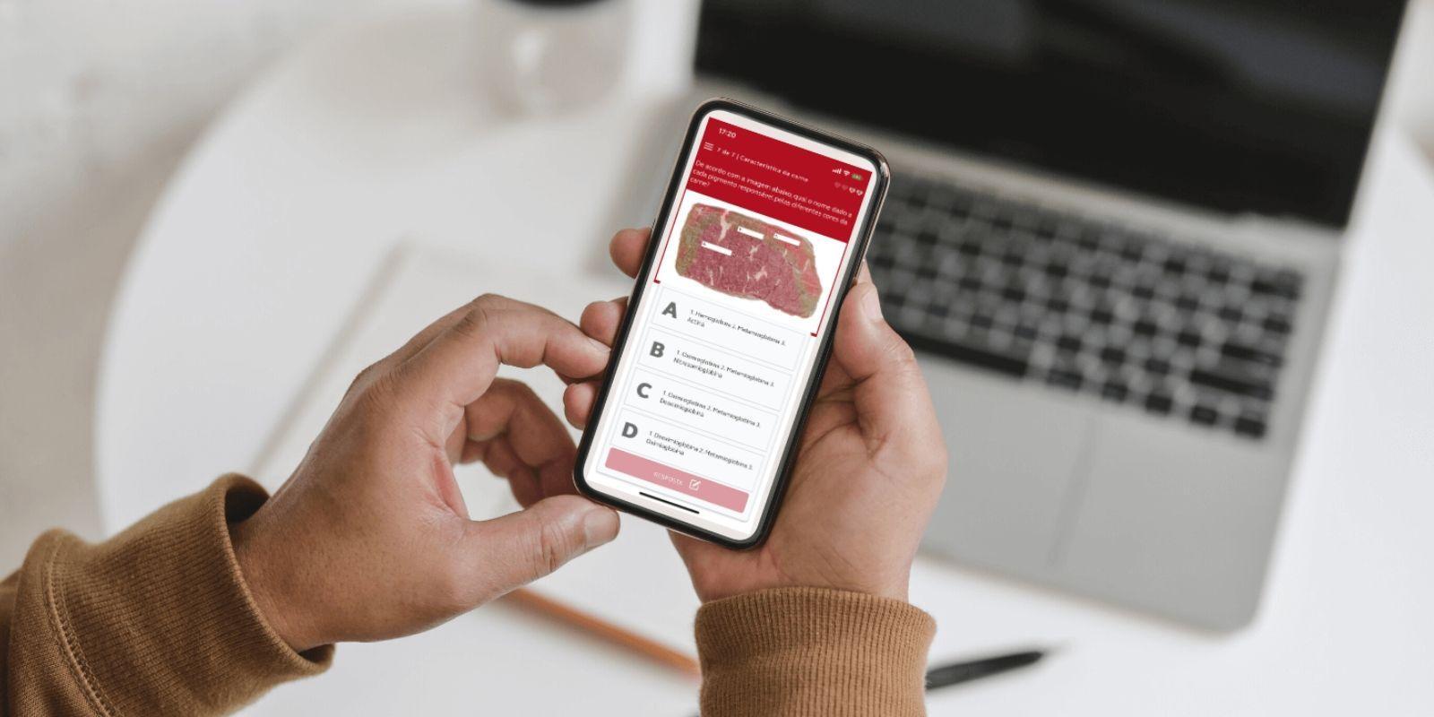 Zootecnista recém formada é uma das responsáveis pelo desenvolvimento do primeiro app do mercado da carne
